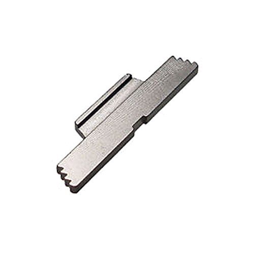 Fixxxer Extended Stainless Steel Best Grip Angle Lock for All Glock Models and Generations 1-4 Excluding G36, G42, or G43 Models (Extended Takedown Plate)