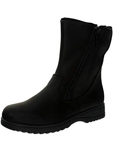 totes Women's Rosie Snow Boot,Black, 9
