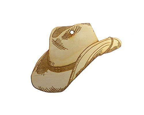 Cowboy Hat Ornament - Southwestern Christmas ()