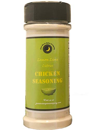 Premium | Lemon Key Lime CITRUS CHICKEN SEASONING Dry Rub | Crafted in Small Batches with Farm Fresh Herbs for Premium Flavor and Zest