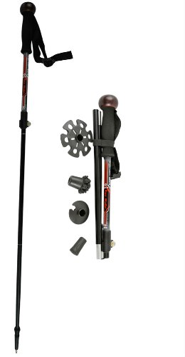 Pace Maker Camera Monopod Trek-cam Micro (4 Section) Walking and Hiking Pole, Outdoor Stuffs