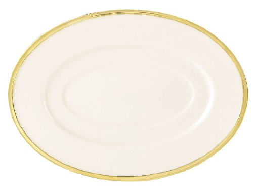 Lenox Dinnerware - 838680 - Sauce Boat Stand, Ivory/Gold, PK12 by Lenox