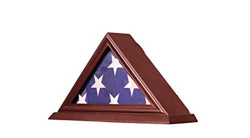 Buy military shadow box two flags