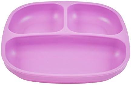 Re-Play nachhaltig durch Recyclingmaterial BPA-frei Kinder Besteckset Spring 4X L/öffel und 4X Gabel