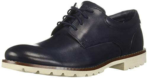 - Rockport Men's Colben Oxford, Navy Leather, 11 W US