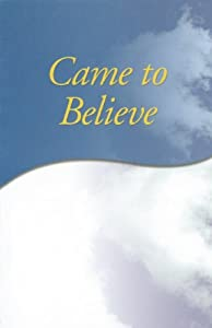 Paperback Came to Believe Book