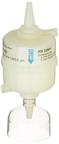 PALL 12991 AcroPak Membrane Filter Capsule, 0.8/0.2µm Pore Size, 500 sq. cm. Effective Filtration Area, 50 L Maximum Throughput