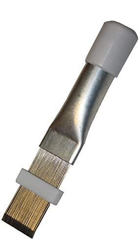 A/C SAFE AC-901 Air Conditioner Metal Fin Repair Tool, Silver