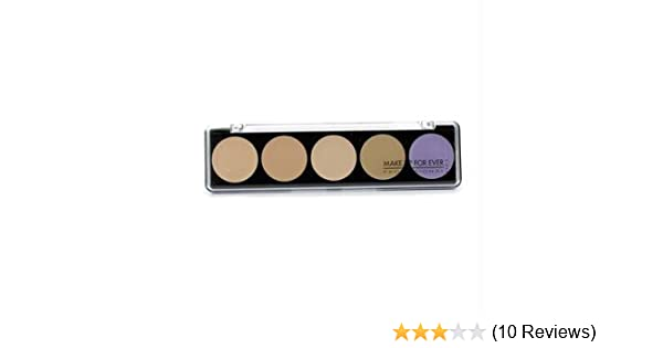 35163ecc95 Amazon.com: Make Up For Ever 5 Camouflage Cream Palette - #2 (Asian  Complexions) 10g/0.35oz: Beauty