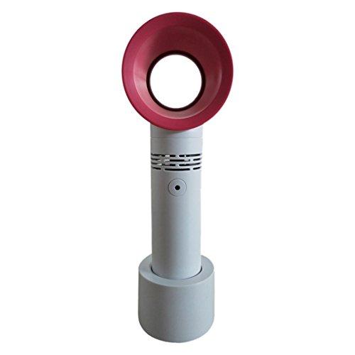 Coerni Bladeless Fan - Low Noise Mini Fan Electric Safe Table Fan (White) by Coerni