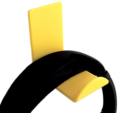 Price comparison product image Stick-on Headphone Hooks 2-pack, Yellow