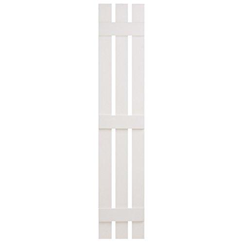 Alpha Vnbb3s55wh 3 Board X 55 Board N Batten Split Shutter White 045841002868
