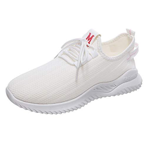 KERULA Sneaker Damen Mesh Leichte Schnürsenkel Sportschuhe Wanderschuhe Laufschuhe Turnschuhe Hallenschuhe Joggingschuhe Freizeitschuhe Walkingschuhe Fitness Running Schuhe für Outdoor