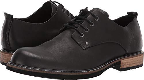 ECCO Men's Kenton Plain Toe Tie Oxford, Black Artisan 42 M EU (8-8.5 US)