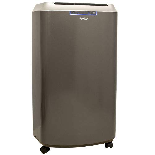 (Avallon APAC140C Portable Air Conditioner with Dehumidifier and Fan for Rooms up to 525 Sq. Ft. with Remote Control - No Draining Required )