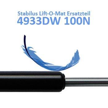 Ersatz f/ür Stabilus Lift-O-Mat 4933DW 0100N