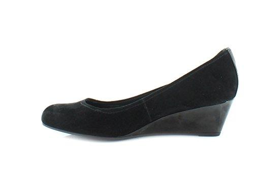 Giani Bernini Jileen Open Toe Synthetic Wedge Heel Black 4xQ3LkRYTW