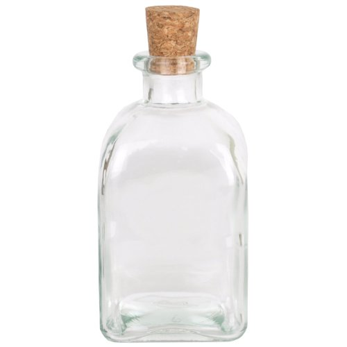 Sand Ceremony Bottle (Clear Glass Square Roma Bottle)
