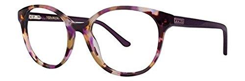 VERA WANG Eyeglasses TESSIA Plum 50MM