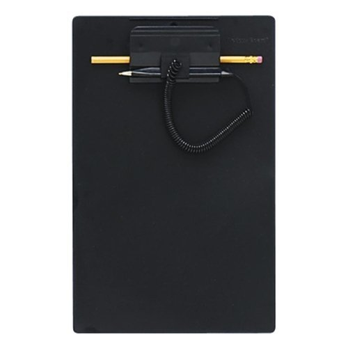 Wholesale CASE of 15 - MMF Industries Clipboard w/ Coil Pen-Clipboard, w/ Coil Pen, Refillable Pen, 8-1/2
