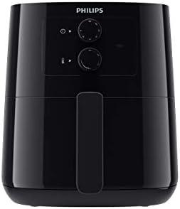Philips Air Fryer 0.8KG, 4.1L capacity, Analog, Black, HD9200/90
