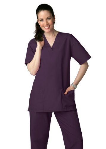 Adar Universal Medical Scrubs Set Medical Uniforms - Unisex Fit - 701 - EGP - 2X