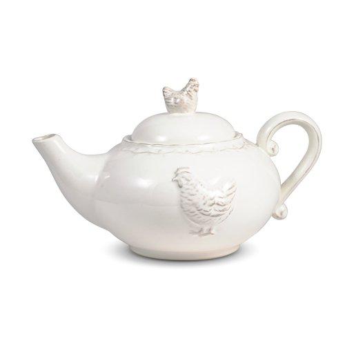 Pfaltzgraff Antiqued Hen Teapot, 30-Ounce