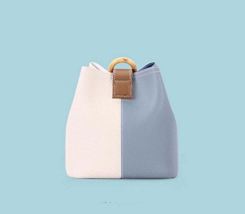 A de bandoulière main couleur seau C bag Mme sauvage bandoulière Shoulder Sacs petites femmes à le large sac Sac Frapper pour 7qRwvqZ