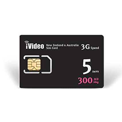 Amazon.com: iVideoWiFi Nueva Zelanda y Australia Tarjeta SIM ...