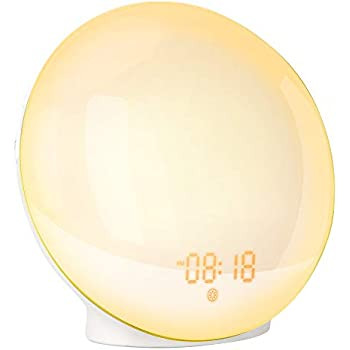Amazon.com: Sunrise Alarm Clock, Shayson Smart Wake Up Light ...