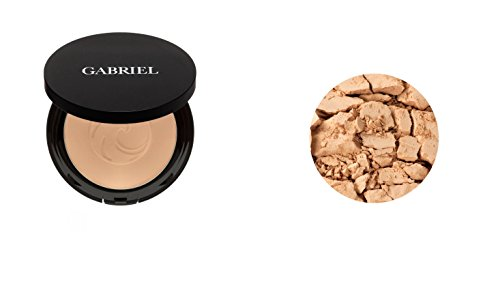 Gabriel Cosmetics (Gabriel cosmetics Dual Powder Foundation (Medium Beige))