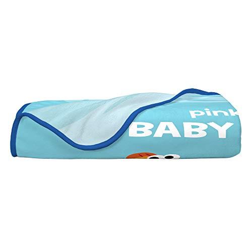 "31tiJpY UeL - Franco Kids Bedding Super Soft Plush Throw, 46"" x 60"", Baby Shark"