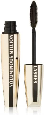 L'Oréal Paris Voluminous Million Lashes Mascara, Blackest Black, 0.3 fl. oz.