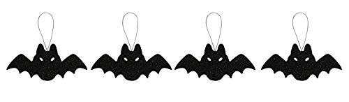 Bewitching Plus Adult Costume - Forum Novelties Glitter Bat Ornaments