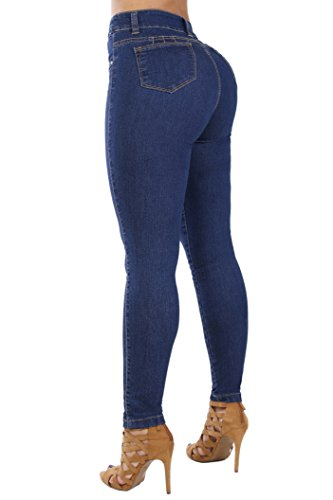 (Curvify Classic High Rise Skinny Jeans| High Waisted Shaping Skinny Jeans Washed (768, Faded Washed,)