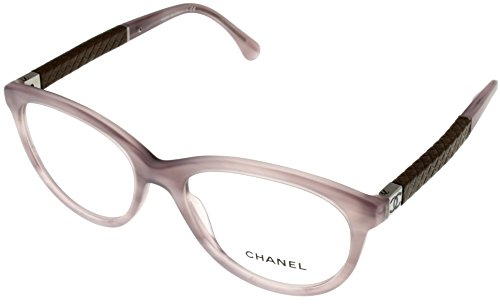 edf141b068d Chanel Prescription Eyewear Frames Womens Cat Eye Striped Violet CH3229Q  1304 - Buy Online in UAE.