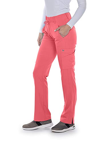 Grey's Anatomy Signature 2218 Trouser Cargo Pant Coral Kiss ()