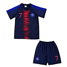 4F sport performance Maillot Short Foot Paris Enfant NO 7 14 Ans