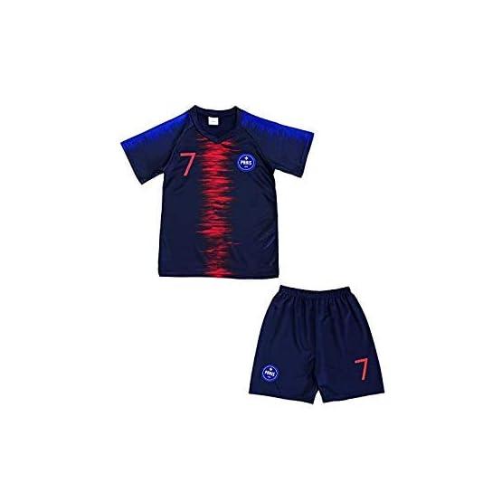 4F sport performance Maillot Short Foot Paris Enfant NO 7 14 Ans