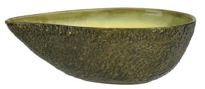 Home Gourmet Collection Large Ceramic Avocado Serving Bowl Collection Large Bowl