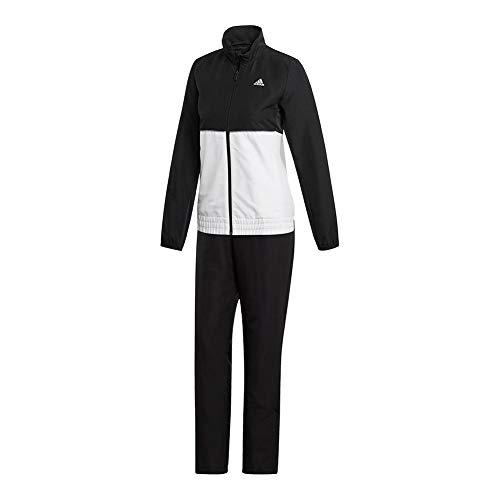 (adidas Women's Club Track Suit Black/White Medium)