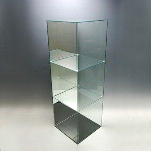 プラスアート アクリル3段ケースB ガラスエッジ