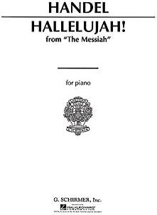 G.F. Handel: Hallelujah Chorus (Piano) - Partituras: Amazon.es ...