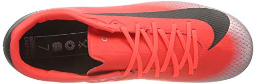 12 brt black Rouge Football Academy Chaussures Vapor Eu Adulte dk 600 chrome 41 De Cr7 Grey Nike Crimson Mixte mg Fg 5Bqp6