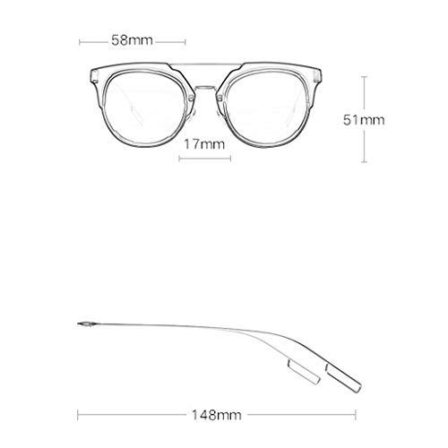 soleil Lunettes colorées Sport lunettes Mode élégant Couleur Big Box de Femme Des Film de B Nouvelle Soleil B rétro q0vEx