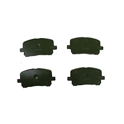 Toyota Genuine Parts 04465-02070 Front Brake Pad Set: Automotive