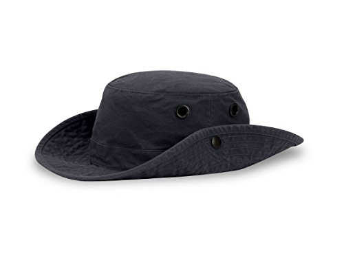 "Tilley T3 Wanderer Snap-Up Hat - Navy 7 3/4"""