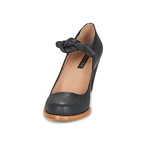 Ankle Heels Beba Neosens S938 Black Black Women's Strap Suave wfnXOX0xq