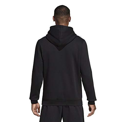 E Sudadera noir blanc Hombre 3s Negro Fl Adidas Po da7Wdn