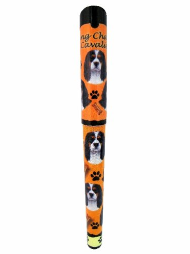 King Charles, Tri-Color Pen Easy Glide Gel Pen, Refillable With A Perfect Grip, Great For Everyday Use, Perfect King Charles, Tri-Color Gifts For Any Occasion Cavalier King Toy